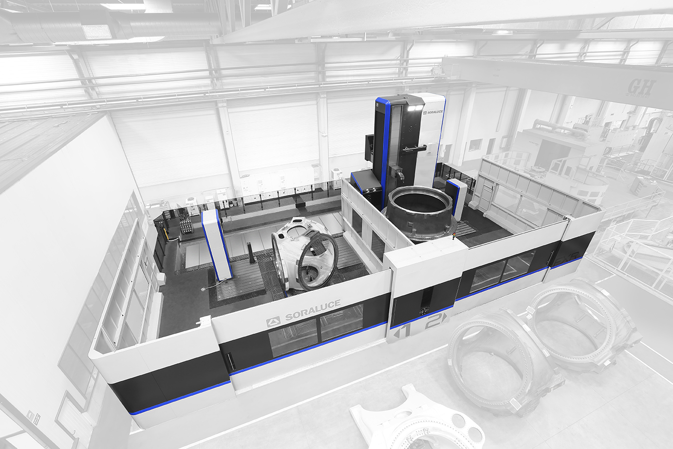 New concept of multi-task milling machine