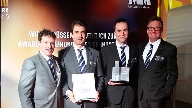 SORALUCE vince il BEST OF INDUSTRY AWARD 2015 nella categoria