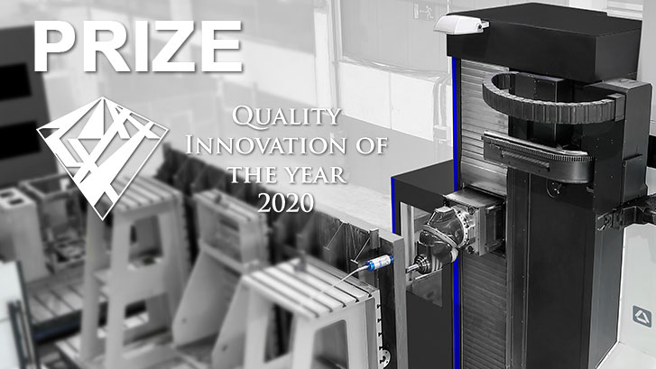Soraluce DWS – Dynamic Workpiece Stabilizer – System takes the award