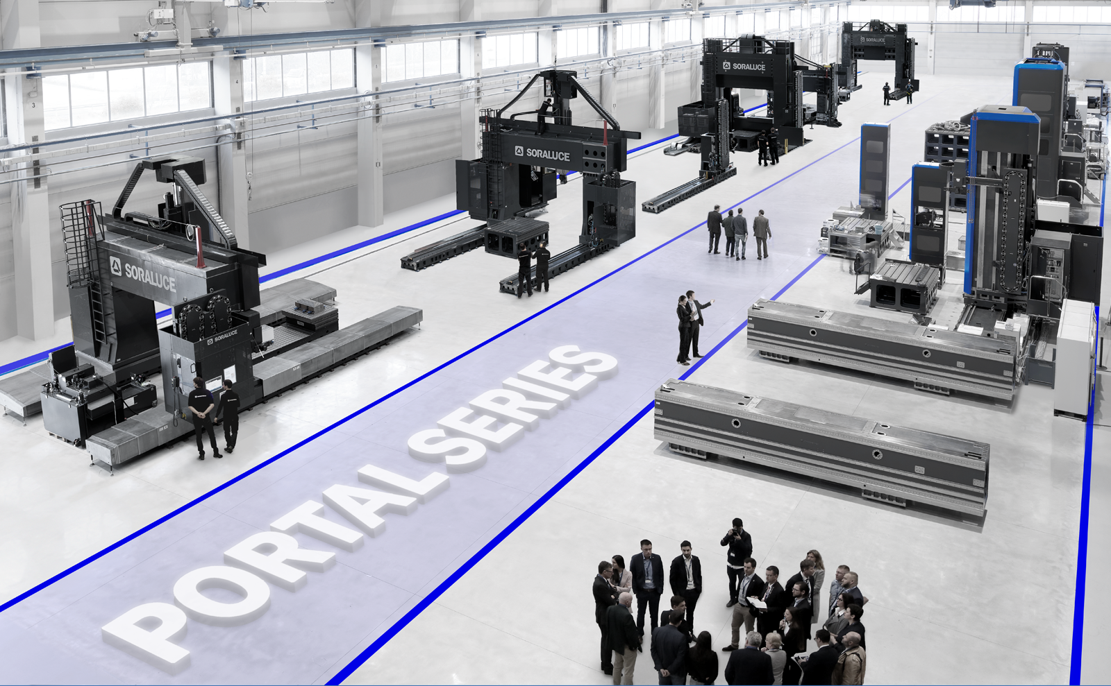 Exclusive Online Event - Soraluce´s Portal & Gantry Milling Machines