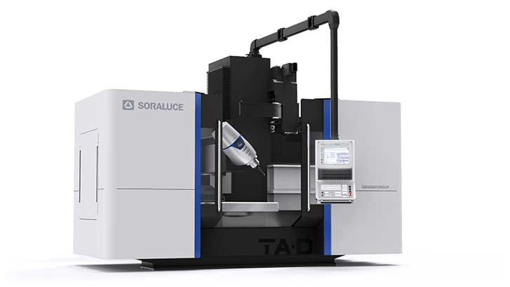 SORALUCE to showcase the SORALUCE TA-D 20 5-axis machining centre at the la EMAF 2018