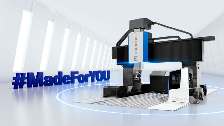 Soraluce unveils the future of machining solutions #MadeForYOU live at EMO.