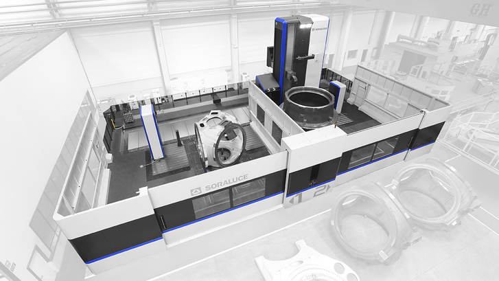 Soraluce develops a new concept of multi-task milling machine