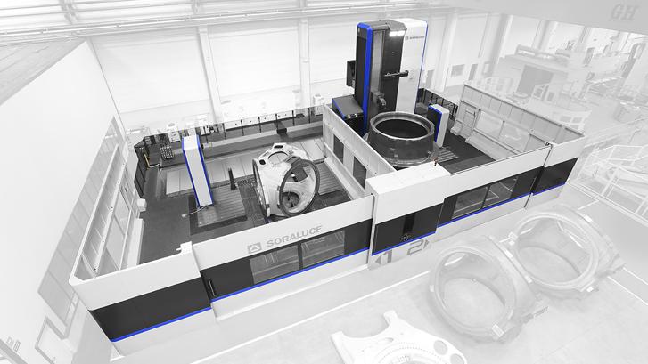 Soraluce desarrolla un nuevo concepto de máquina fresadora multifunción