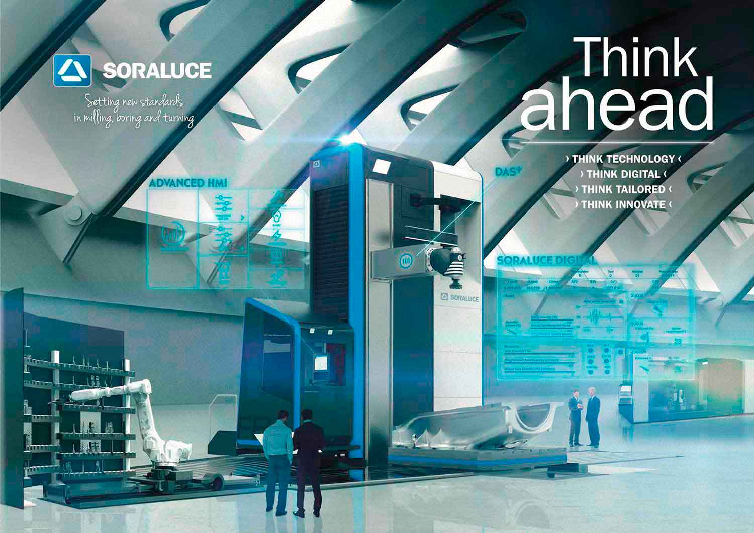 SORALUCE thinks ahead to digital environments in milling, boring and turning