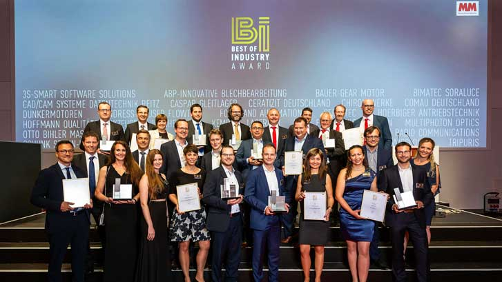 "SORALUCE VSET LAURÉAT DE ""BEST OF INDUSTRY"""