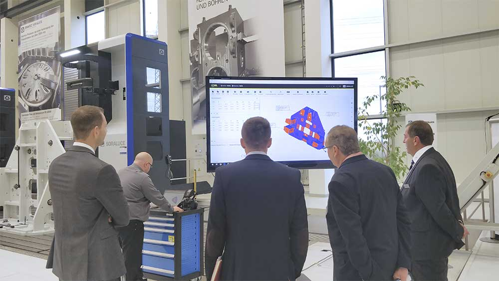SORALUCE develops an advanced vision system for the alignment of large parts
