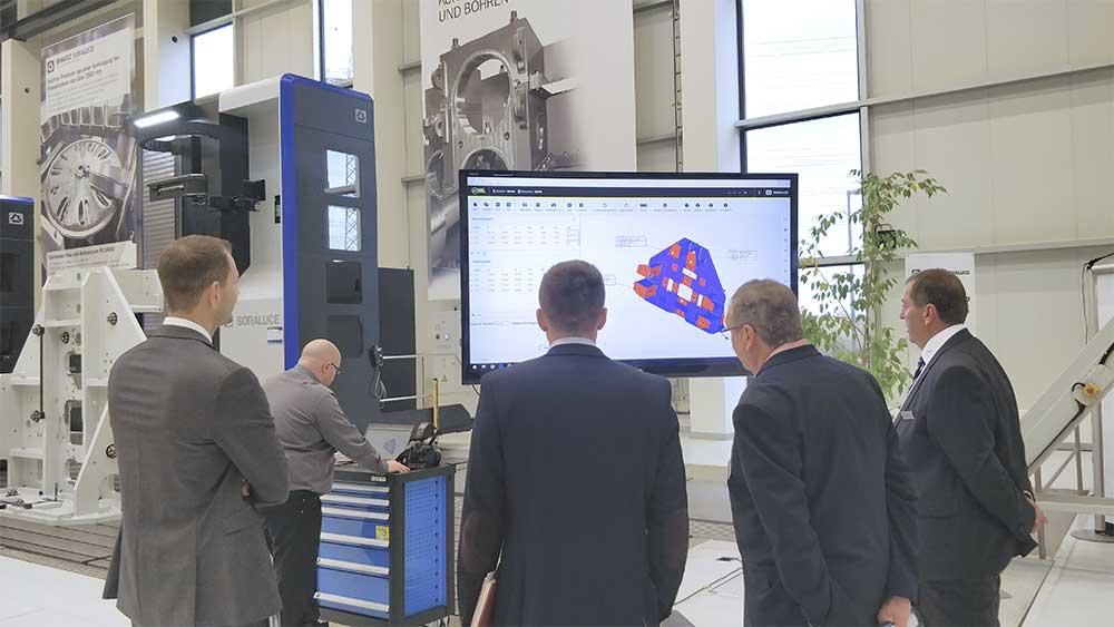 SORALUCE desarrolla un sistema de visión avanzado para el alineamiento de piezas de gran tamaño