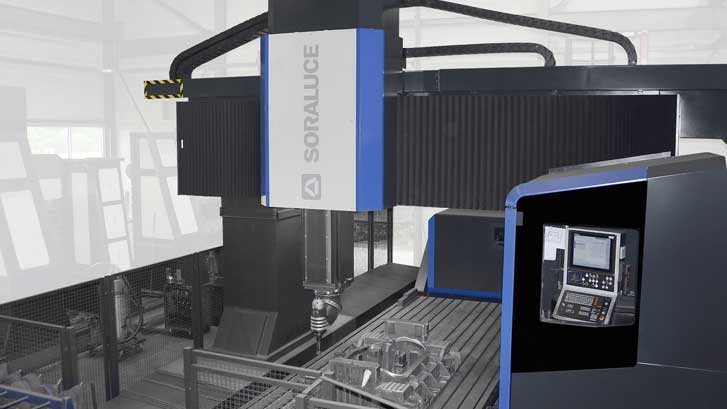 High stock removal capacity and precision finishing, hallmarks of the new SORALUCE PMG 6000