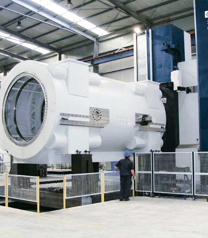 Carcasas de turbina de gas y vapor - Energía - SORALUCE