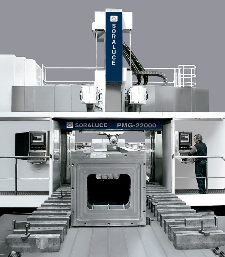 Machine tool components SORALUCE