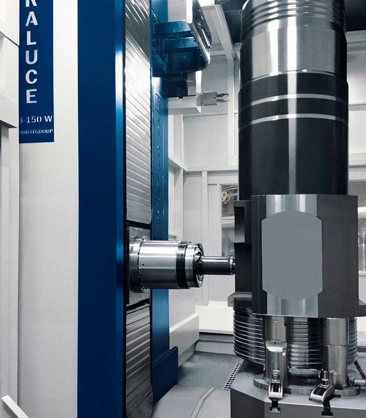 Multi face machining SORALUCE KB-150-W