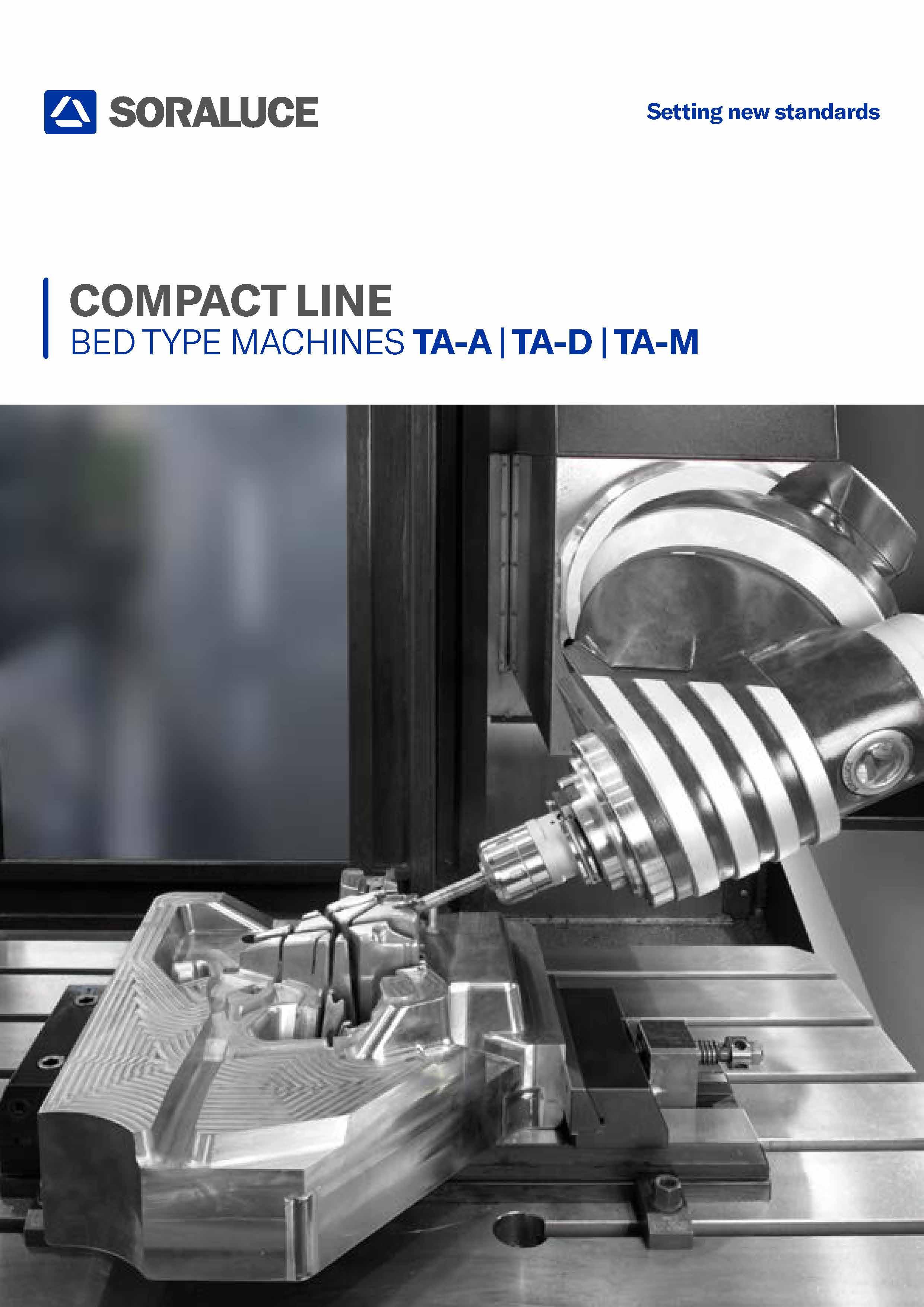 SORALUCE TA-D Bed type milling machine