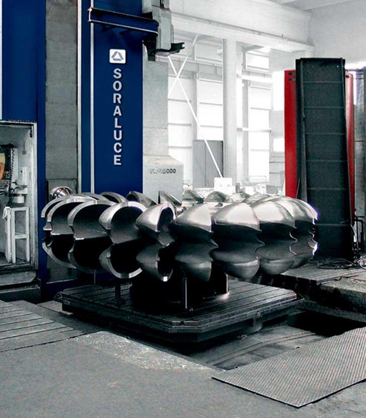 Turbine Pelton SORALUCE
